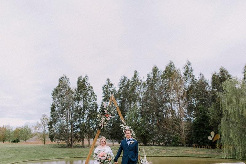 Manawatu wedding image with Emma at Orlando Country 0114