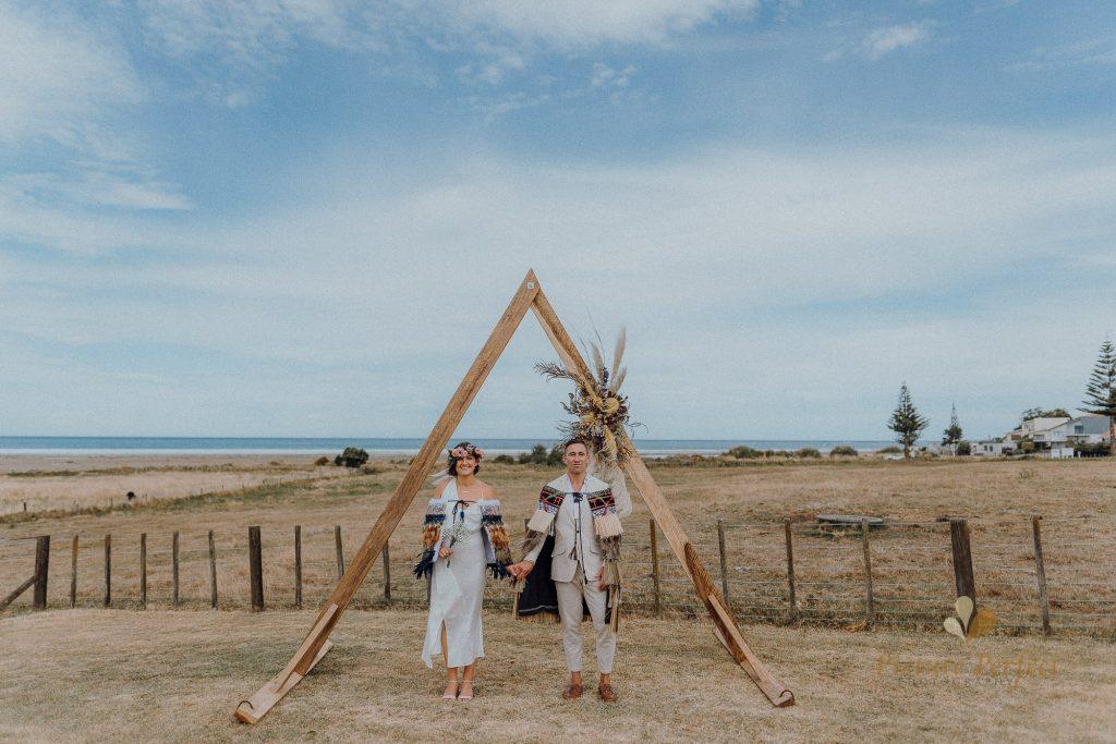Hawkes Bay beach wedding photography Keri 0120