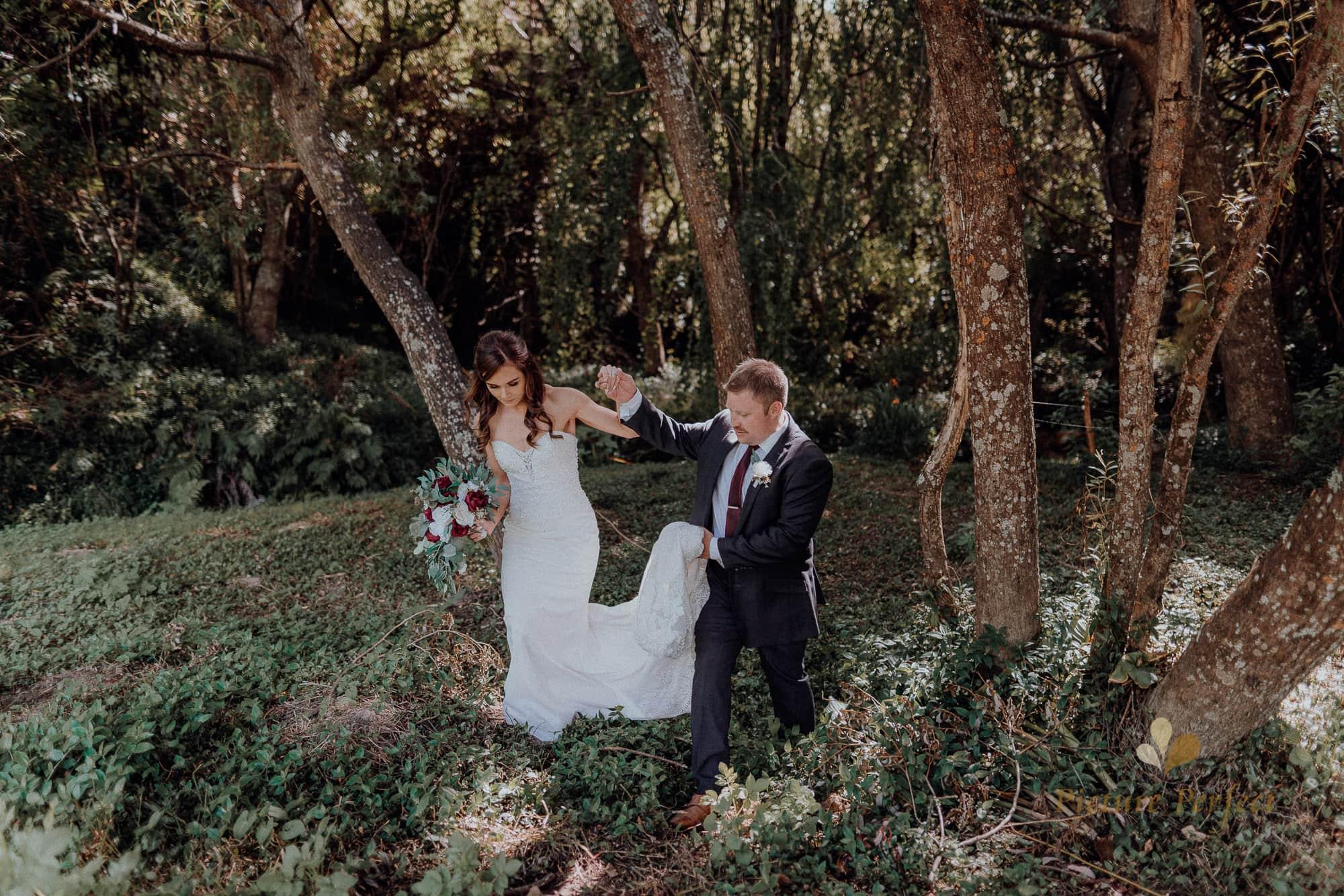 Roseburb Park wedding of Casey 2874