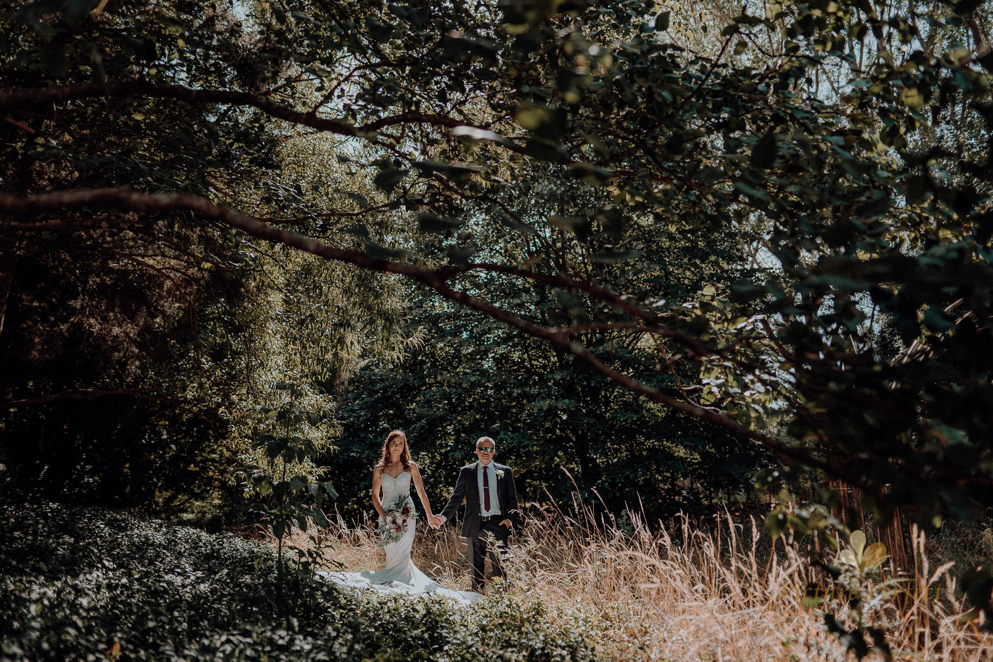 Roseburb Park wedding of Casey 3017