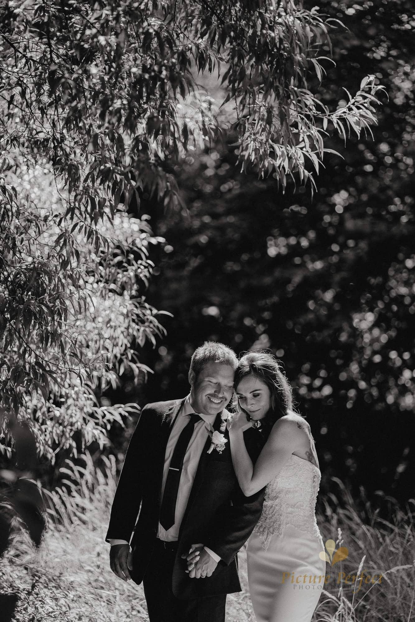 Roseburb Park wedding of Casey 3083