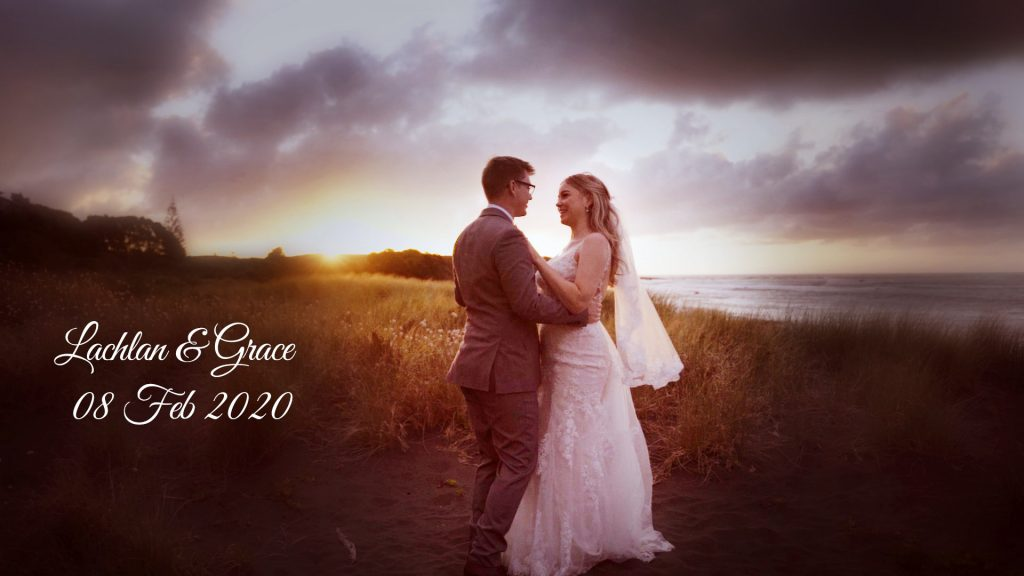 New Zealand wedding photographer Binh Trinh with Grace