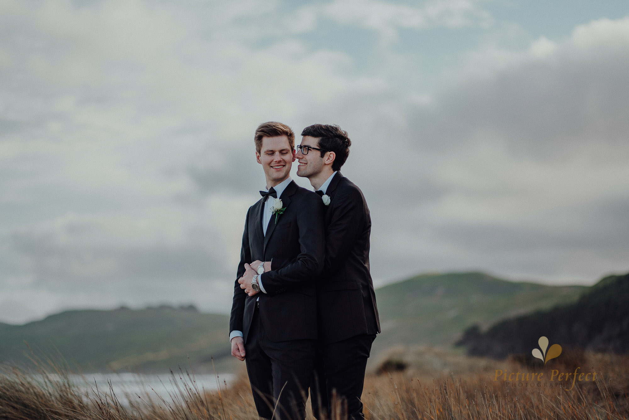 Hawkes Bay same sex wedding photography with these two lovebirds 0073