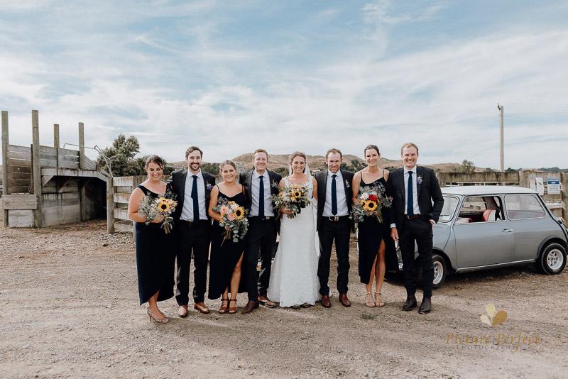 Manawatu farm rustic wedding of Natalie and Hamish 4060