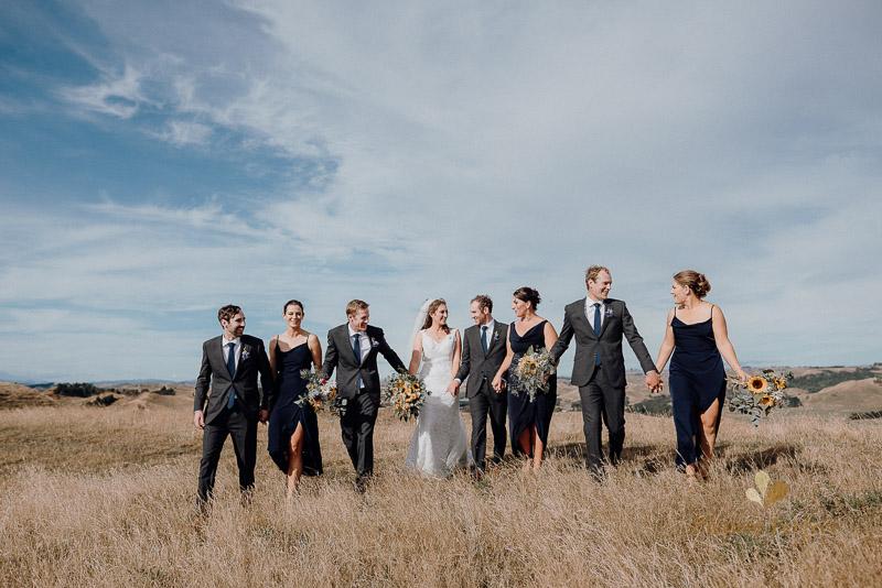 Manawatu farm rustic wedding of Natalie and Hamish 5081